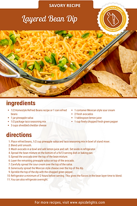 Layered Bean Dip Recipe Card.png
