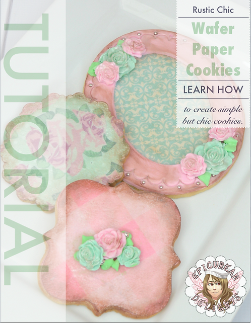 Shabby Chic Cookie Trio Tutorial