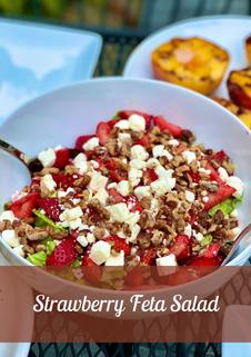Strawberry Feta Salad Recipe