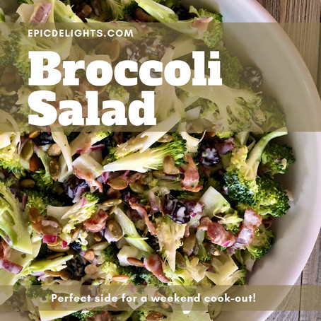 Jazzed up Broccoli Salad