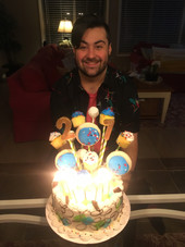 21st Ice Cream Cake