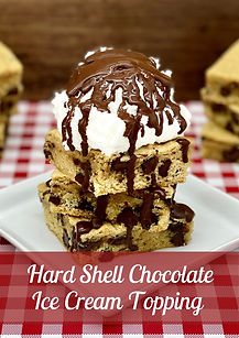 Hard Shell Chocolate Ice Cream Topping