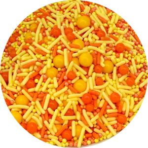 Orange & Yellow Candy Sprinkles