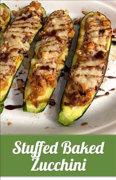Stuffed Baked Zucchini Recipe