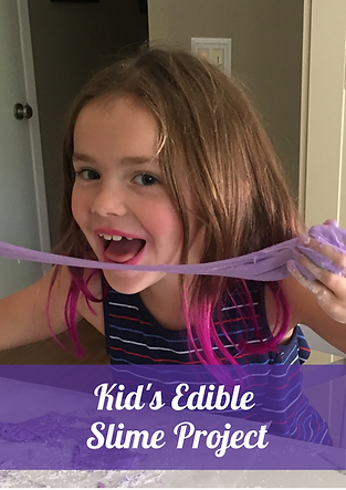 Kid's Edible Slime Project Gallery Image