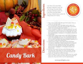 Fall Candy Bark