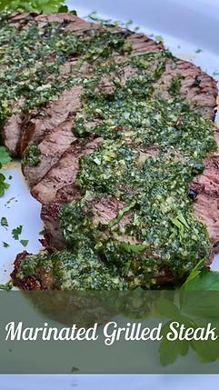Marinaded Grilled Steak