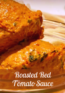 Roasted Red Tomato Sauce Recipe