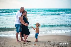 צילומי הריון בים