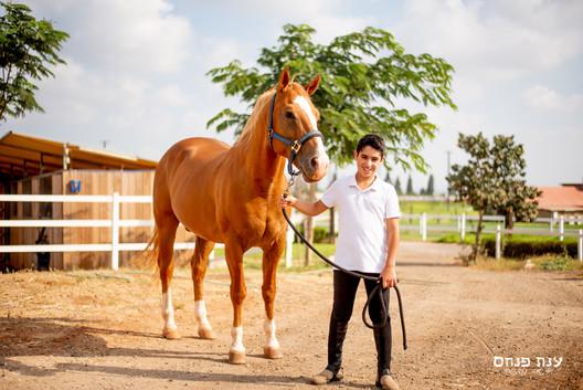 צילומי בר מצווה בחוות סוסים
