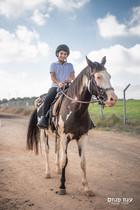 צילומי בר מצווה על סוסים