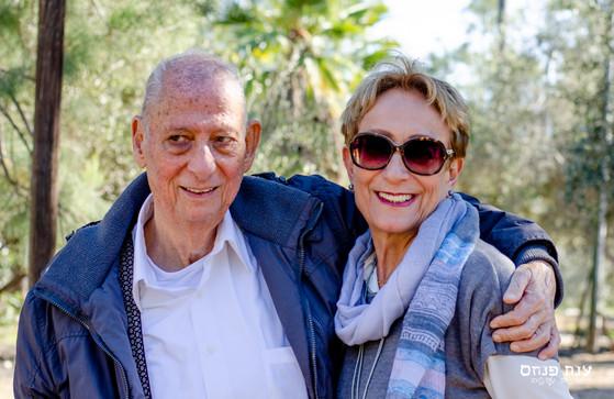 צילומי משפחות בטבע סבא וסבתא