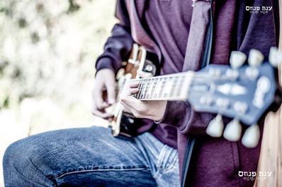 צילומי בר מצווה גיטרה