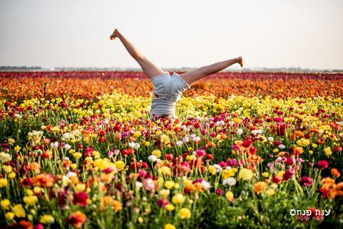 בת מצווה פרחים