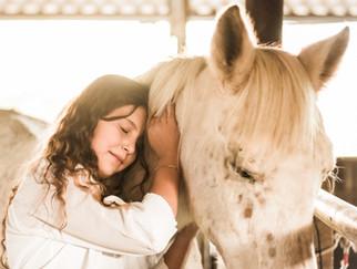 צילומי בת מצווה עם סוסים