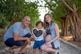 צילומי הריון הורים וילדים