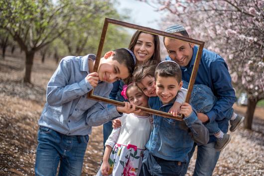 צילומי משפחות בטבע מסגרת