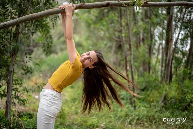 צילומי בת מצווה ביער