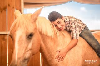 צילומי בר מצווה על סוס