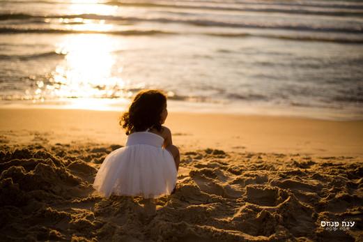 צילומי משפחות בטבע בים
