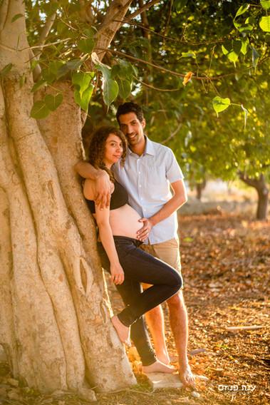 צילומי הריון בעל ואישה