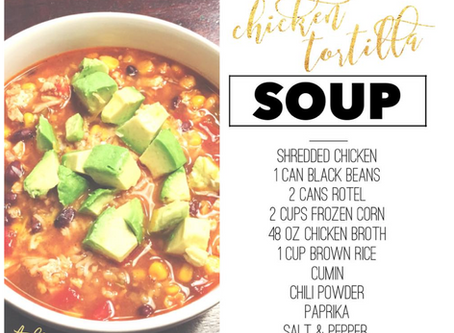 Ashley's Homemade Chicken Tortilla Soup