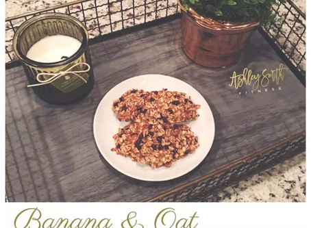 Banana & Oat Guilt Free Cookies