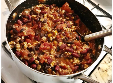 Fall Comfort Food: TURKEY CHILI