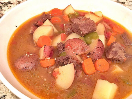 Mama's Delicious Beef Stew