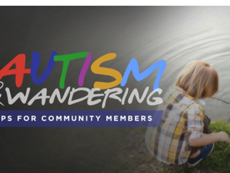 Autism & Wandering Tips for the Community