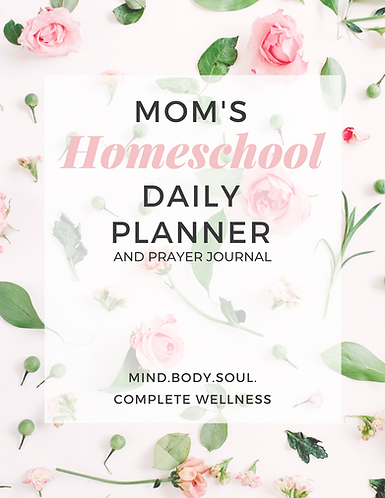 Mom's Homeschool Planner & Prayer Journal