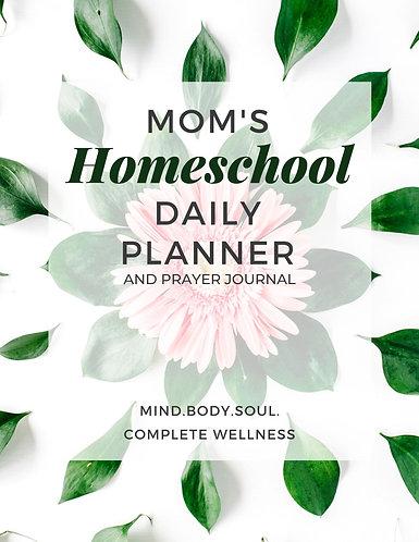 Mom's Homeschool Planner Prayer Journal - Green