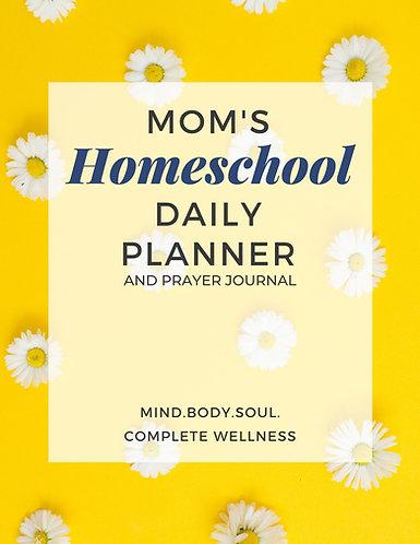 Mom's Homeschool Planner Prayer Journal - Yellow