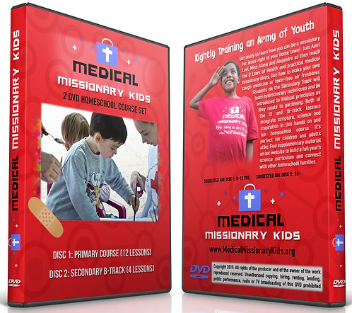 Medical Missionary Kids: Primary & Secondary Tracks Video Course