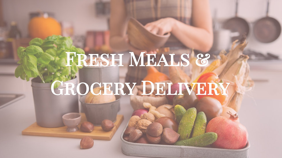 Meal Plan & Grocery Delivery