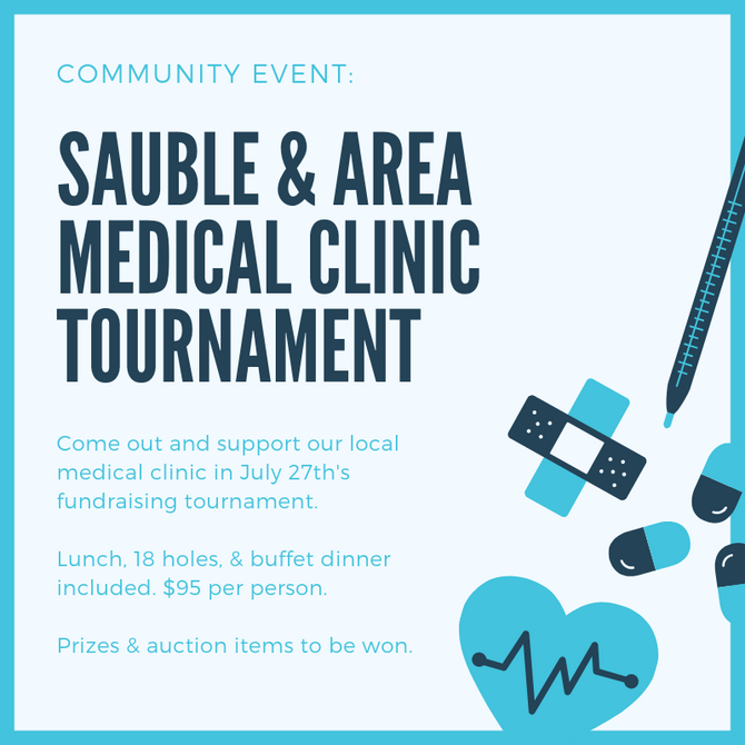 Sauble & Area Medical Clinic Fundraising Tournament