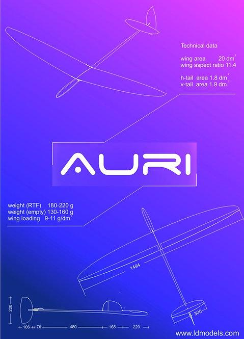 Auri Super light (26g Carboline)
