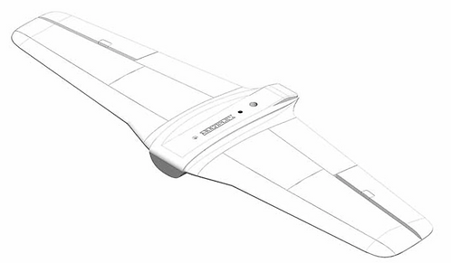 Wing FunRacer white without servos