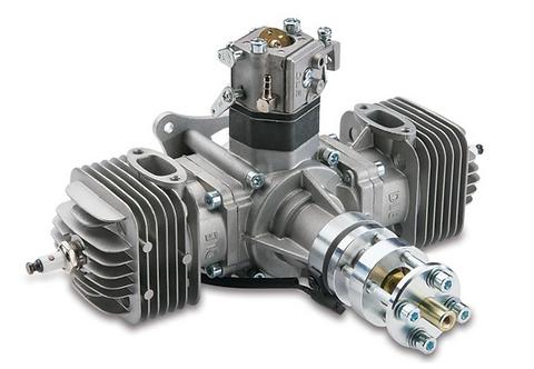 DLE60 2-tahti 2-sylinterinen bensamoottori