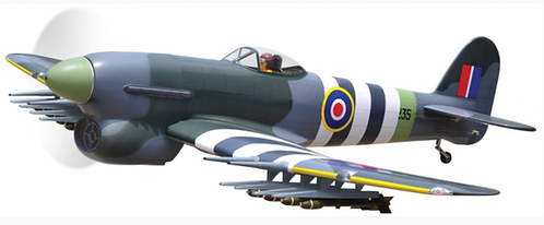 BH Hawker Typhoon 22-33cc gas ARF