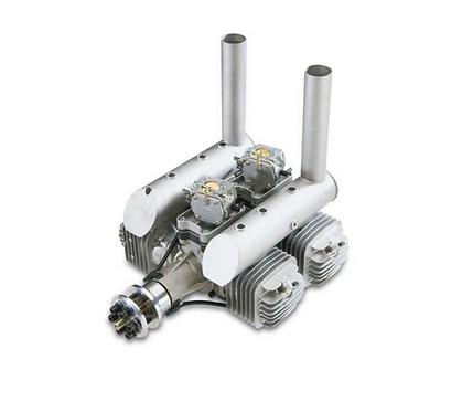 DLE222 V3 2-tahti bensa moottori