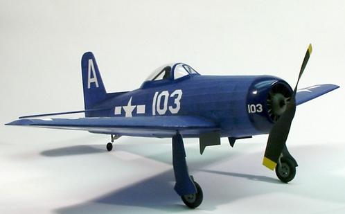 F8F-2 Bearcat 762mm wood kit