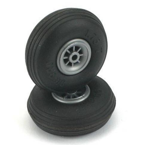 """Kumipyörä 2"""" (50.8mm) pari"""