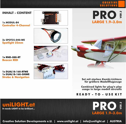 Pro-Large lighting set