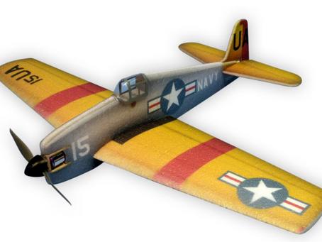 Sisä-combat lennokki F6F Hellcat
