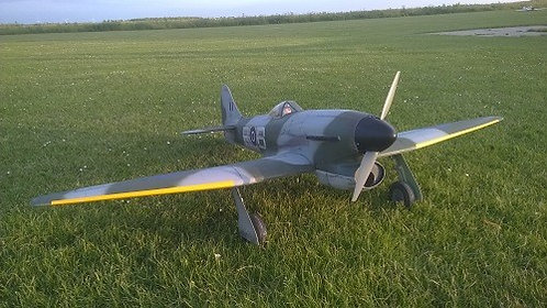 RBC Hawker Tempest V  1500mm
