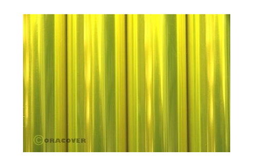 ORACOVER 10m transparent fluor.yellow