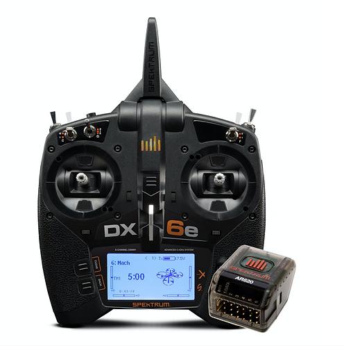 DX6E lähetin ja AR620 vastaanotin
