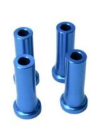 M6 stand off 40mm 4kpl sininen
