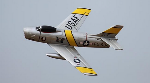 F-86 Sabre Jolley Roger 64mm EDF